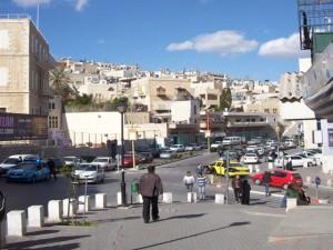 Modern-day Bethlehem streets