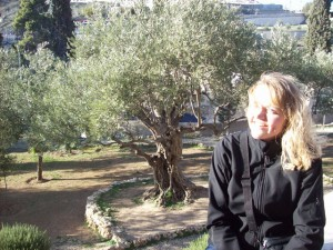 Garden of Gethsemane, just outside Jerusalem