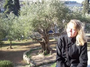 Garden of Gethsemane, just outside Jerusalem