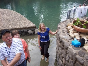 """Yardenit"" Jordan River baptism site"