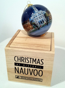nauvo christmas ornament