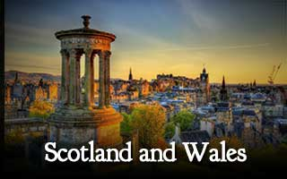 scotland and wales